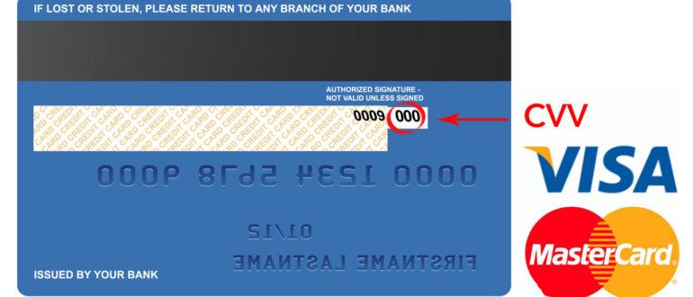 Код безопасности карты Сбербанка